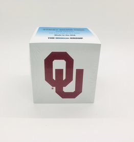 "The Fanatic Group OU Sticky Memo Cube 2.75""x2.75"" 550 sheets"