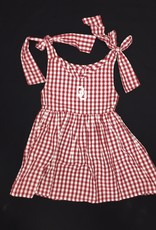 Garb Toddler Girls Cora Gingham Check OU Dress