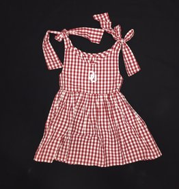 Garb Toddler Girls Cora Gingham Check OU Dress