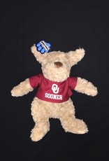 Mascot Factory Cuddle Buddies Brown Puppy w/ T-Shirt