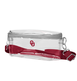 Chicka-d Chicka-d OU Clear Bum Bag
