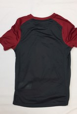 Nike Youth Nike Dri-Fit SS Miler Tee OU-Crimson/Anthracite
