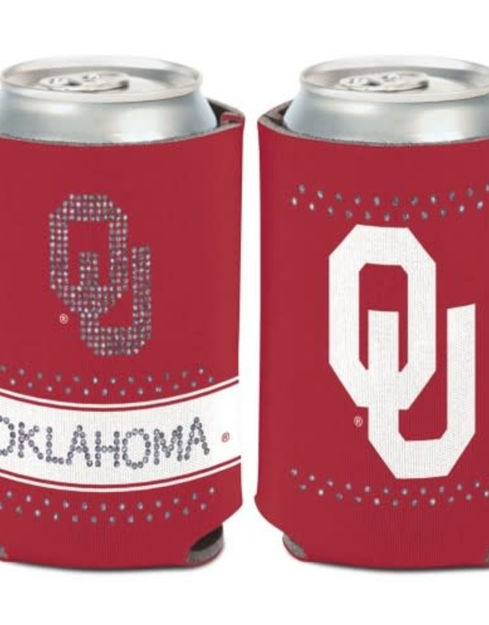 WinCraft Collapsable OU Oklahoma Bling Pocket Koozie