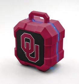 U Collegiate OU Shockbox Bluetooth Wireless Speaker w/ LED Lightstrip