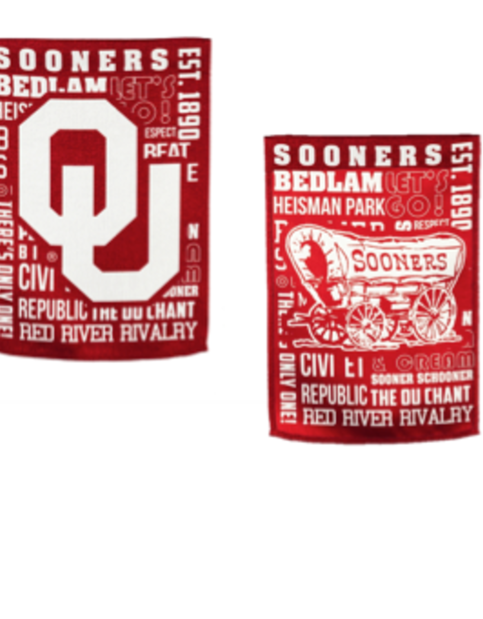 "Team Sports America OU Fan Rules Garden Flag 12.5"" x 9.5"""