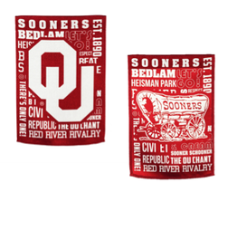 "Team Sports America OU Fan Rules Garden Flag 12.5"" x 9.5"""