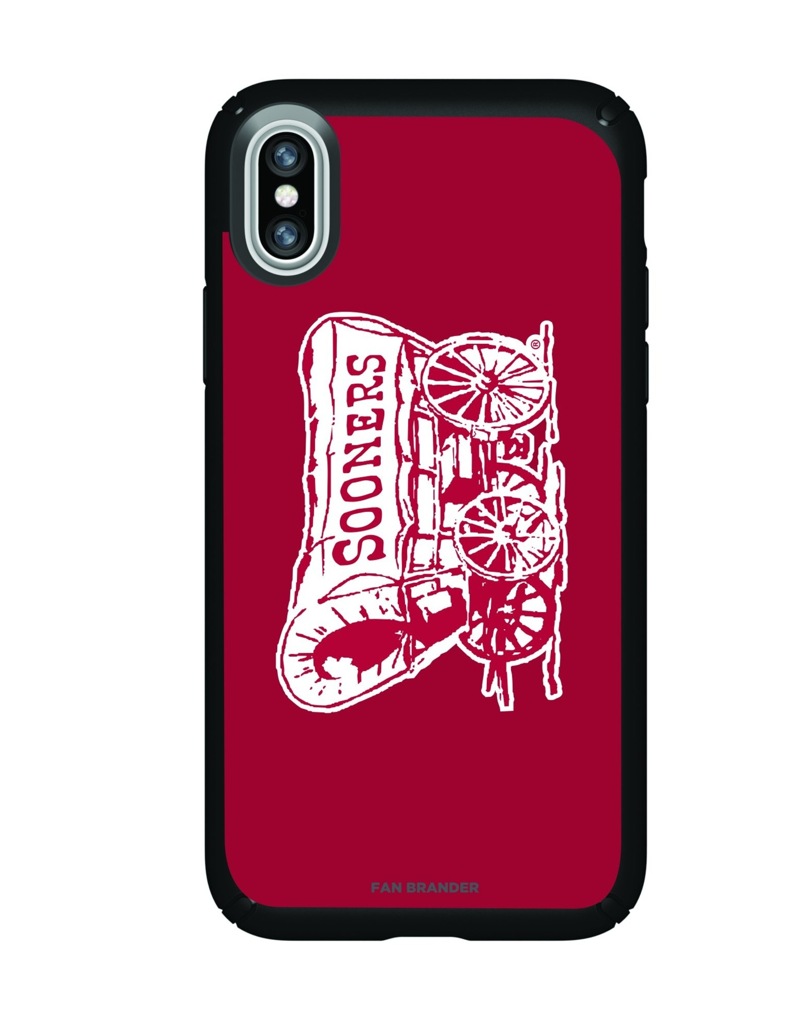 Fan Brander Sooner Schooner Fan Brander Slim iPhone X/Xs Case