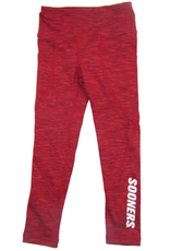 ZooZatz Girls Sooners Intent Pocket Legging