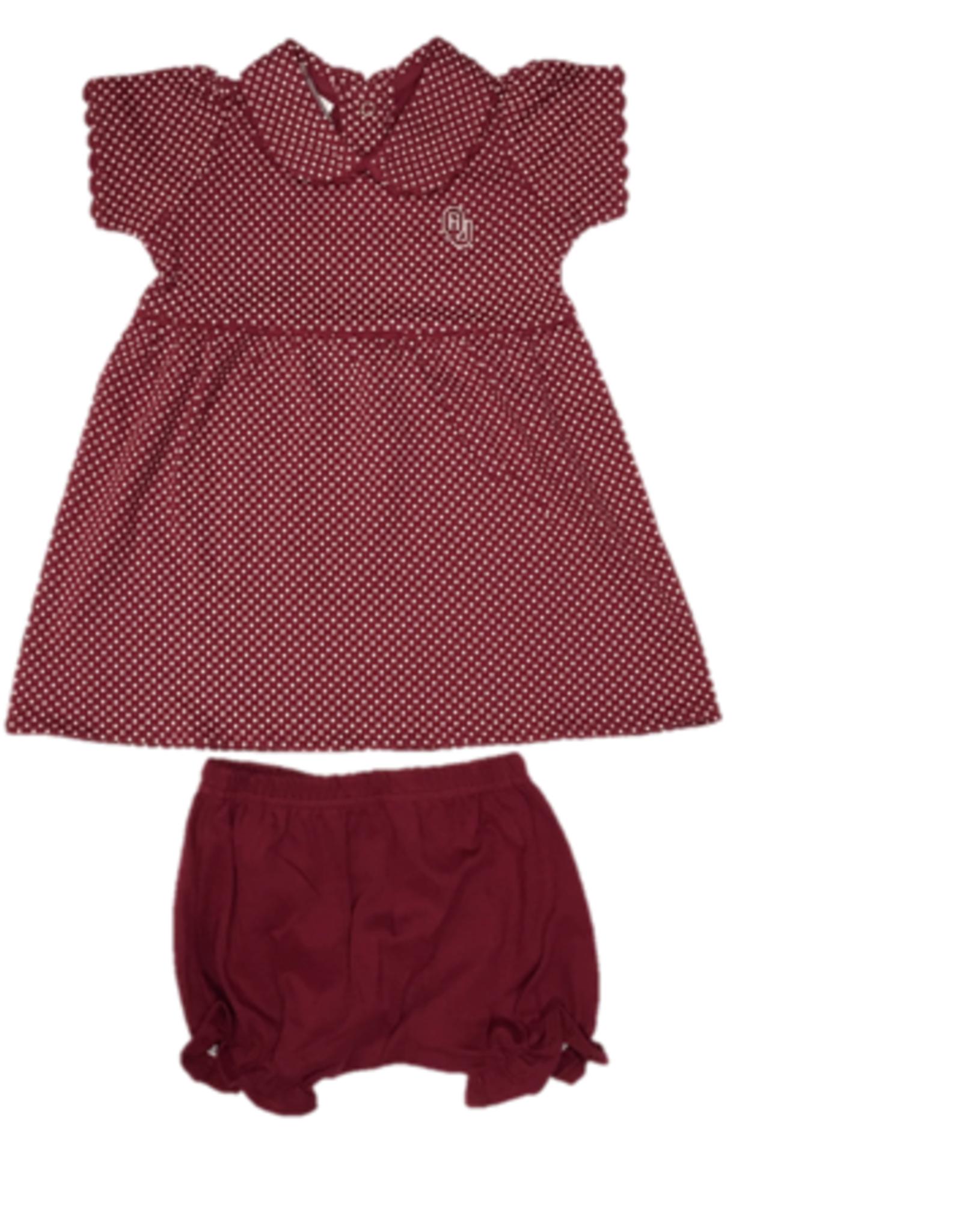 Two Feet Ahead Infant OU Peter Pan Dress