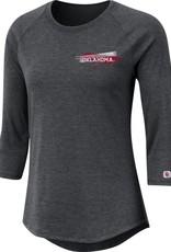 Nike Nike Women's Oklahoma Dark Charcoal TriBlend Raglan