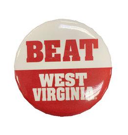 "WinCraft Beat West Virginia Button 3"""