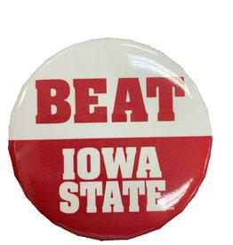 """WinCraft Beat Iowa State Button 3"""""""