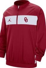 Jordan Men's Jordan OU Crimson Sideline Half-Zip