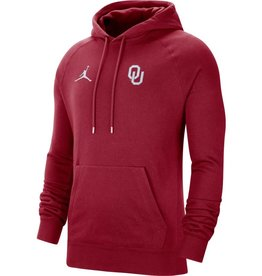 Jordan Men's Jordan OU Crimson Pullover Travel Fleece Hoody