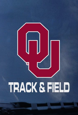 "Color Shock OU Track & Field Auto Decal 3.5""x3.5"""