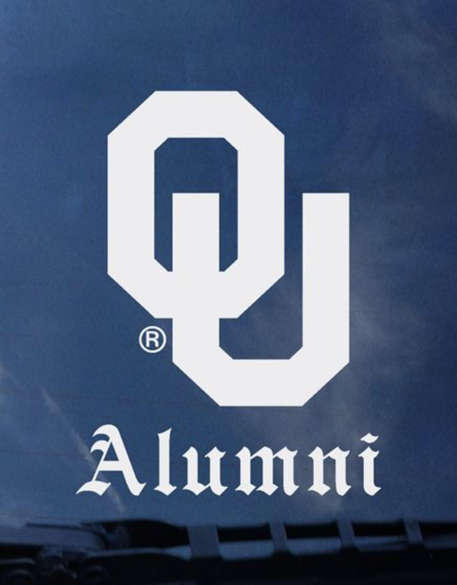 "Color Shock OU Alumni Old English Auto Decal 4.6""x3.5"""