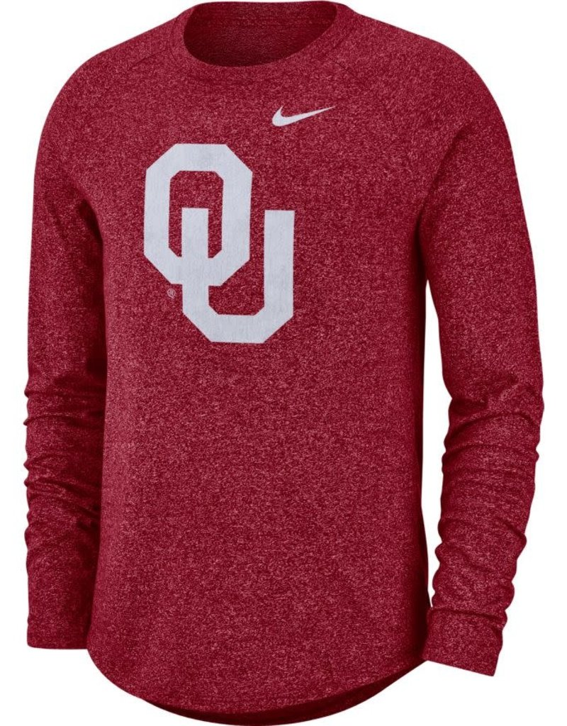 Nike Men's Nike OU Long-Sleeve Marled Raglan Tee