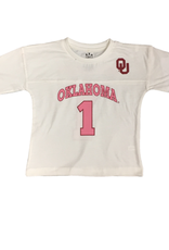 Little King Toddler OU Game Time Shirt w/ Pink 1