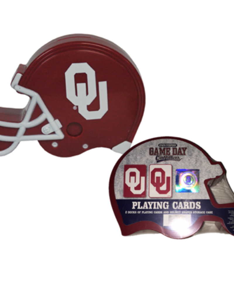 Game Day Outfitters Jenkins Helmet Case OU 2pk Playing Cards