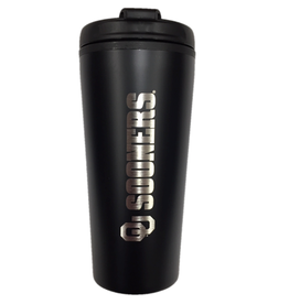 LXG LXG OU Sooners 16oz Black Plastic Travel Tumbler