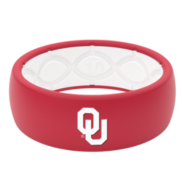 Groove Original Oklahoma Silicone Groove Ring-Crimson