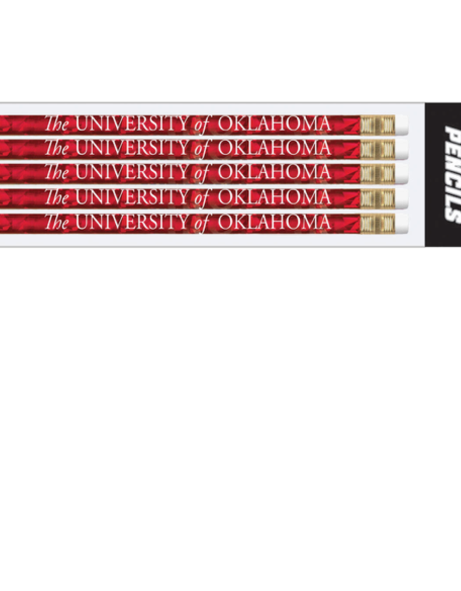 Jardine The University of Oklahoma Jewel Pencil 5pk