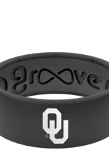 Groove Original Oklahoma Silicone Groove Ring-Black