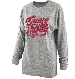 Pressbox Pressbox Knobi Heather Game Day L/S Tee