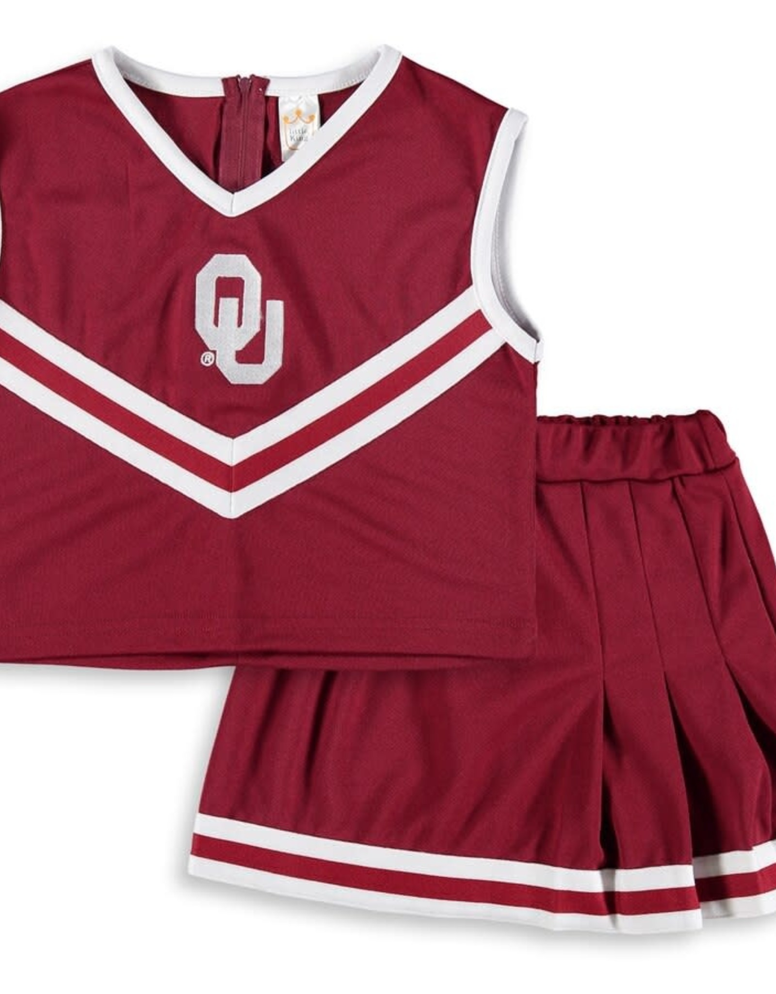 Creative Knitwear Creative Knitwear Toddler OU Cheer Dress w/ Bloomer