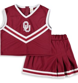 Creative Knitwear Creative Knitwear Youth OU Cheer Dress w/ Bloomer