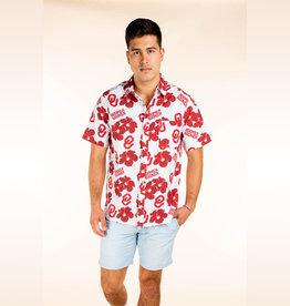 Tellum + Chop Men's Tellum + Chop Boomer Sooner Hawaiian Shirt