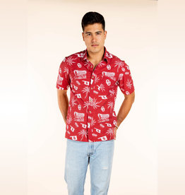 Tellum + Chop Men's Tellum + Chop Schooner Hawaiian Shirt