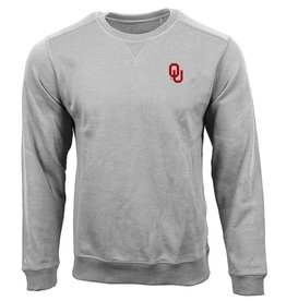 Antigua Men's Antigua OU Light Gray Defender Sweater
