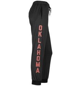 ZooZatz Women's Oklahoma Score Joggers Black