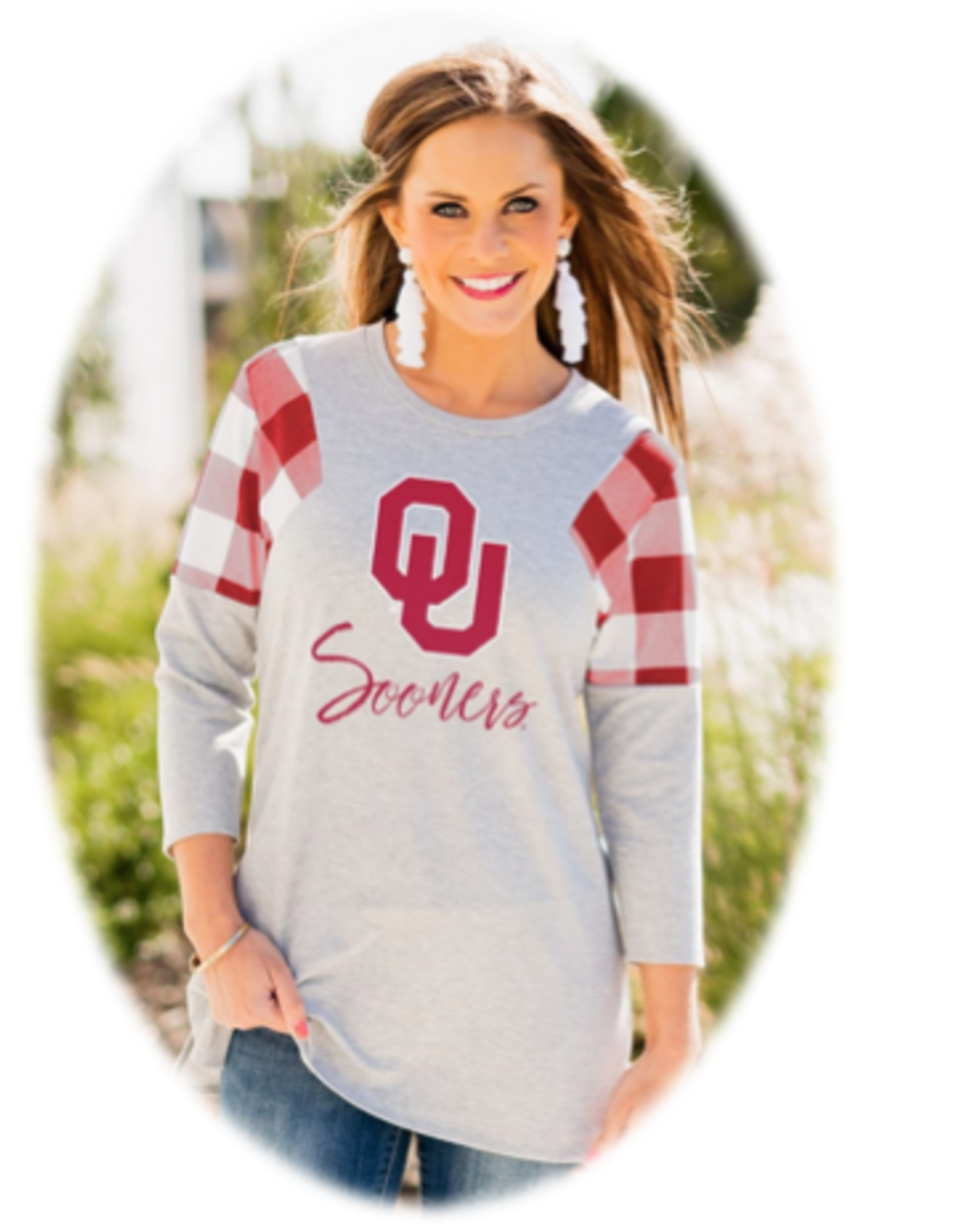 Gameday Couture Women's Gameday Couture Get In Check Tunic