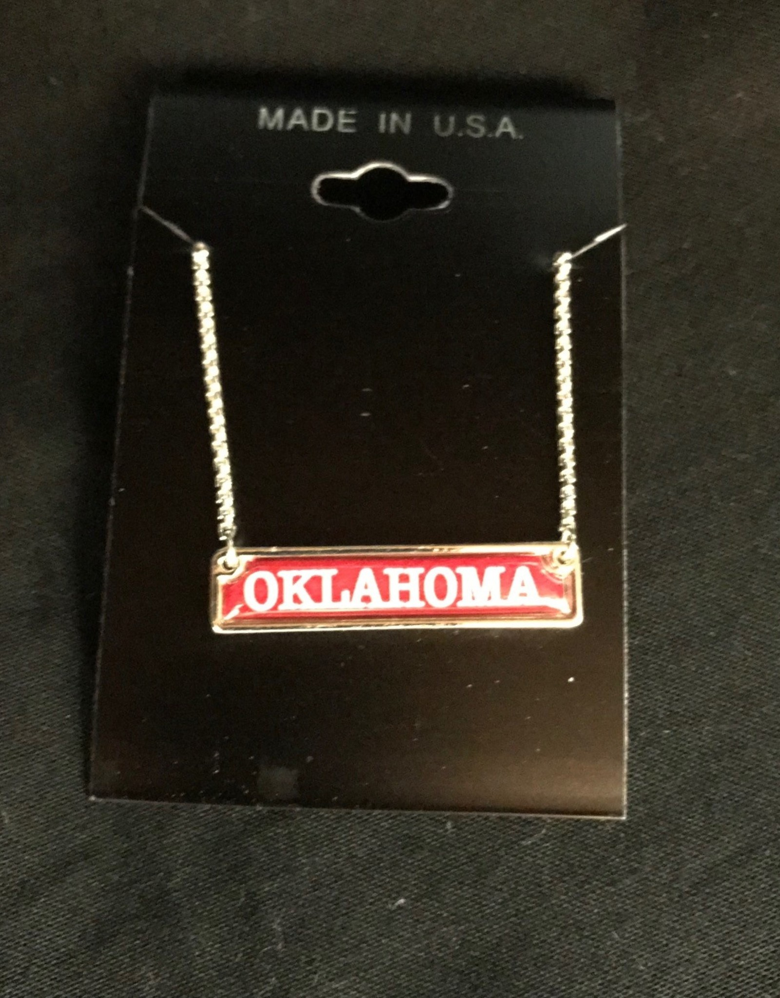 FTH FTH Oklahoma Dainty Nameplate Necklace