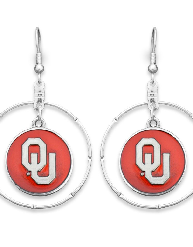 FTH FTH OU Hoop Campus Chic Earring