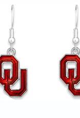 FTH FTH OU Iridescent Logo Earrings