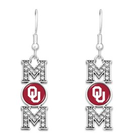 FTH FTH OU Mom Crystal Earring