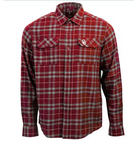 Antigua Men's Antigua OU Stance Flannel Shirt