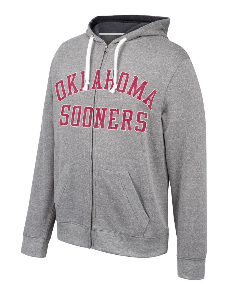 TOW Men's TOW Oklahoma Sooners Full Zip Hoody