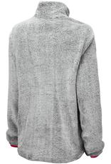 Colosseum Women's Goldenblatt Faux Fur 1/2 Snap Pullover
