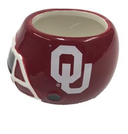 """Sporticulture OU Ceramic Helmet Planter 3.5""""x2.75""""x 2.6"""" high"""