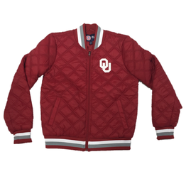 G-III 4 her Women's Goal Line Quilted Bomber Jacket