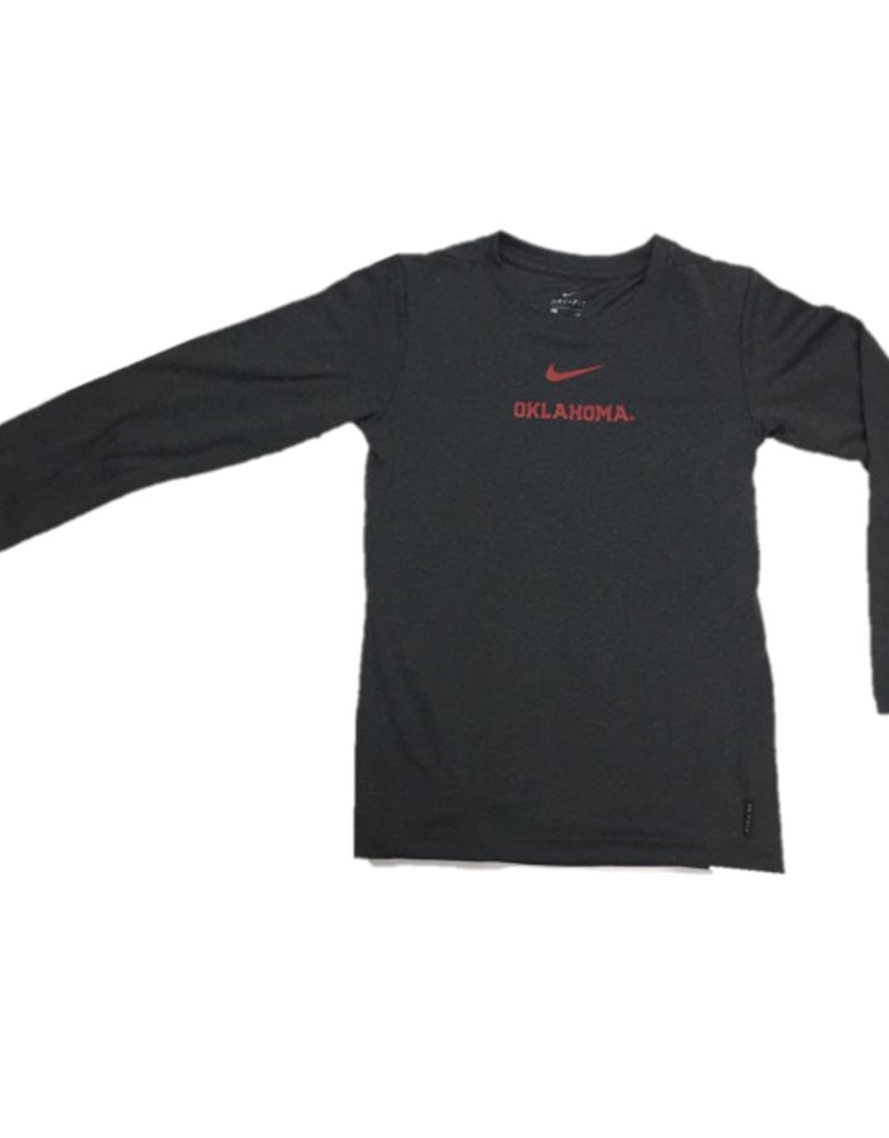 Nike Youth Nike Dri-Fit Coach's Top Long Sleeve