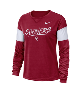 Nike Youth Nike Sooners Long-Sleeve Breathe Top