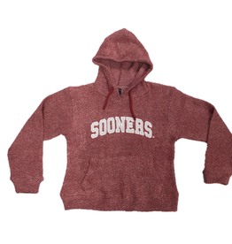 Little King Youth Twist Material Pullover Hood Sooners