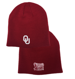 Top of the World TOW OU Schooner Solid Crimson Knit Beanie