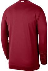 Jordan Men's Jordan Oklahoma Crimson Dri-Fit Spotlight L/S Top