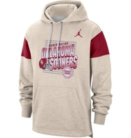 Jordan Men's Jordan Oklahoma Football Local Pullover Hoodie